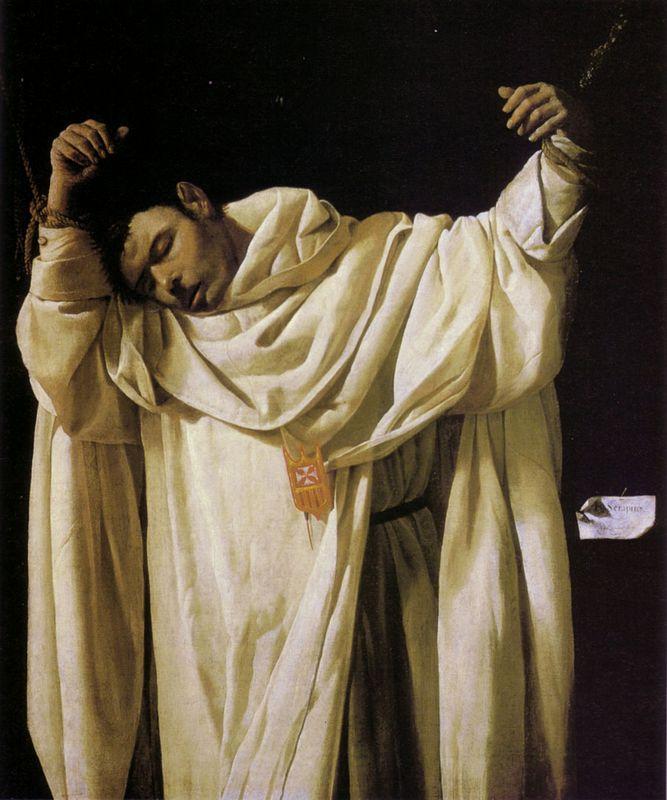 Beato Serapio - Francisco de Zurbaran