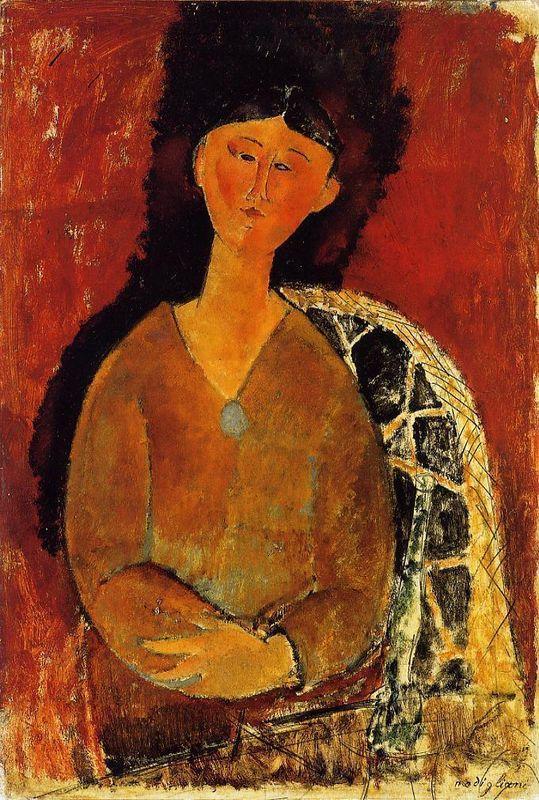 Beatrice Hastings, Seated - Amedeo Modigliani