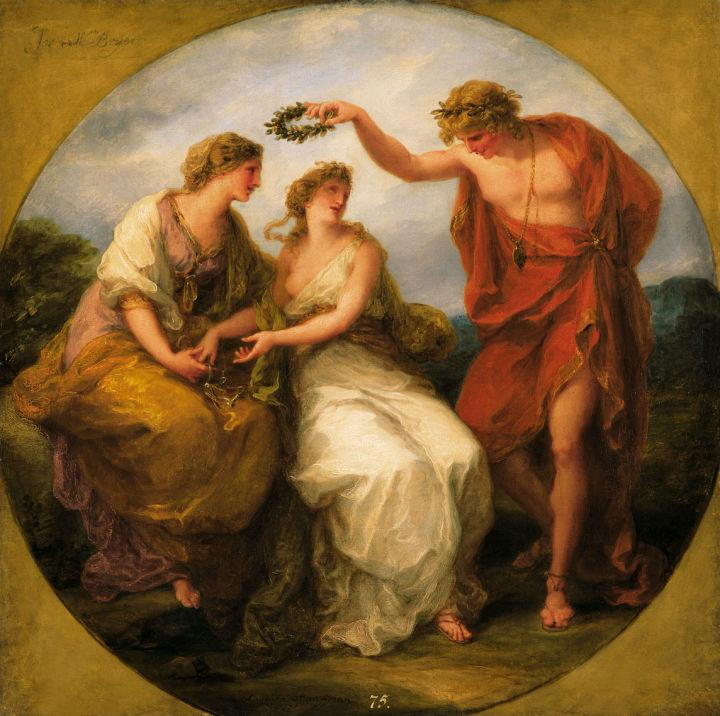 Beauty Directed by Prudence - Angelica Kauffman