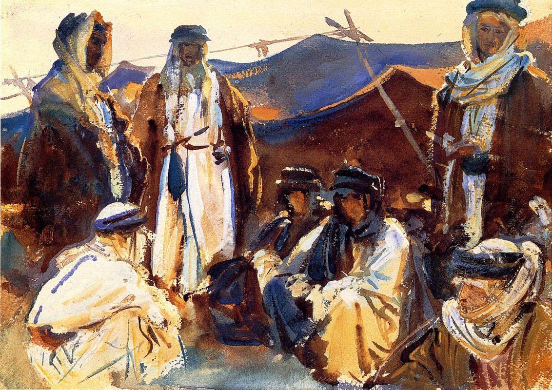 Bedouin Camp  - John Singer Sargent