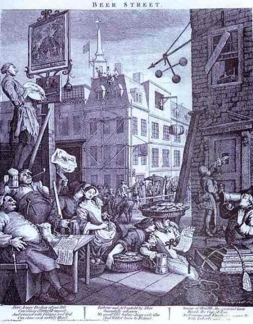 Beer Street  - William Hogarth