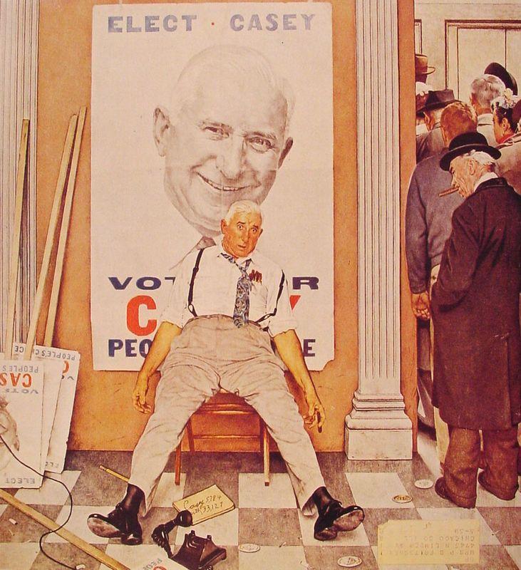 Before and After - Norman Rockwell