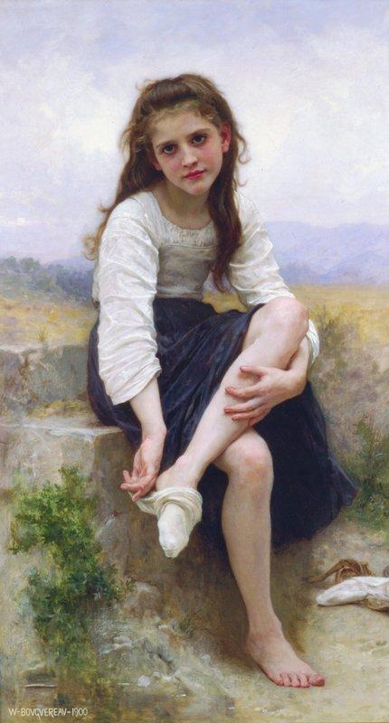 Before The Bath - William-Adolphe Bouguereau