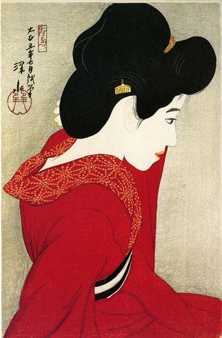 Before the Mirror - Ito Shinsui
