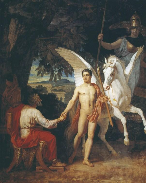 Bellerophon is sent to the campaign against the Chimera - Alexander Ivanov