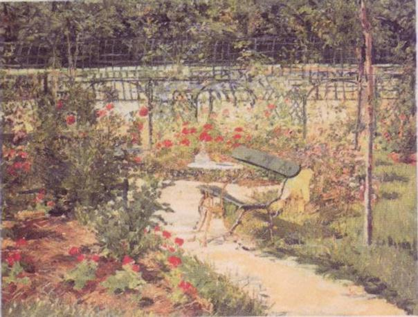 Bench - Edouard Manet