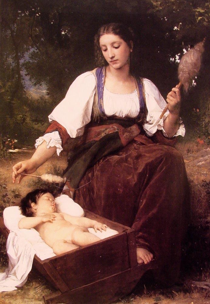 Berceuse - William-Adolphe Bouguereau