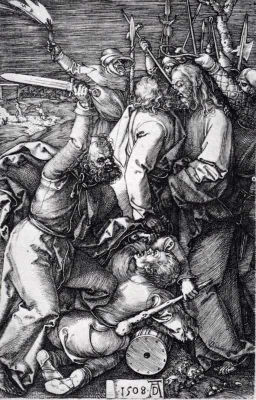 Betrayal Of Christ - Albrecht Durer