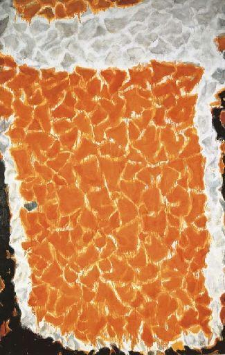 Big Orange - Sam Francis