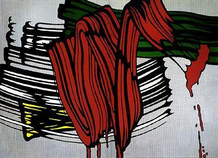 Big painting No. 6 - Roy Lichtenstein