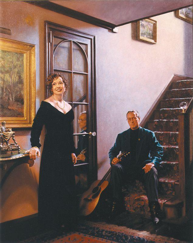 Bill and Marie Stinson - Richard Whitney