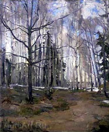 Birch Forest - Konstantin Yuon