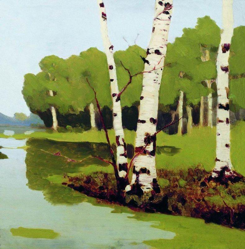 Birches - Arkhip Kuindzhi