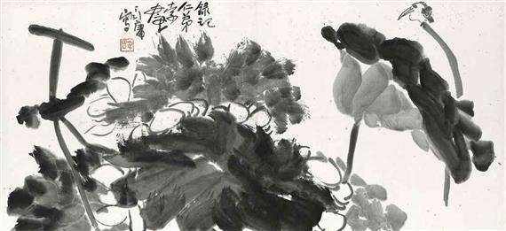 Bird and Lotus - Ding Yanyong