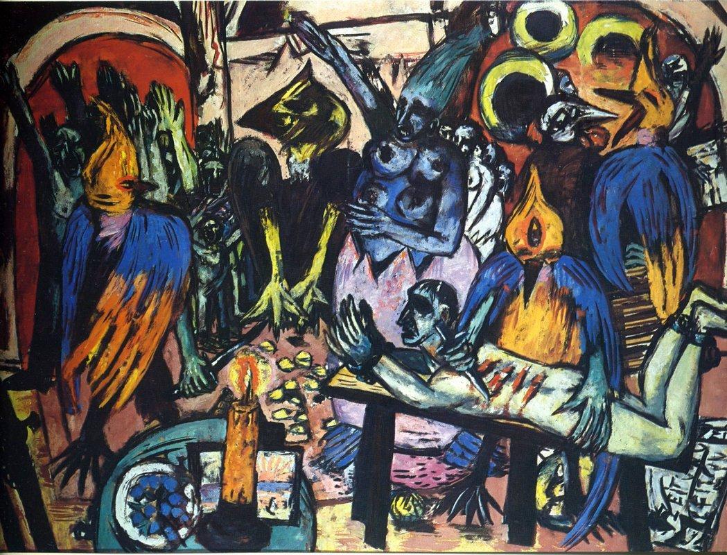 Bird's hell - Max Beckmann