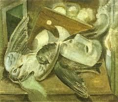 Birds and masks  - Andre Masson