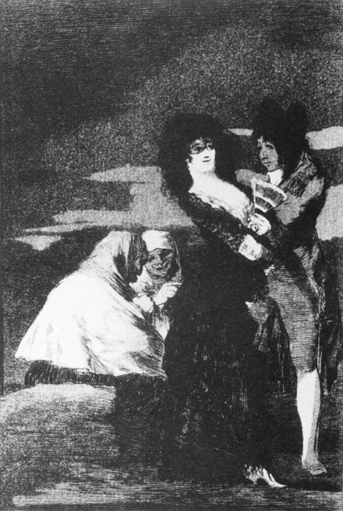 Birds of a Feather - Francisco Goya