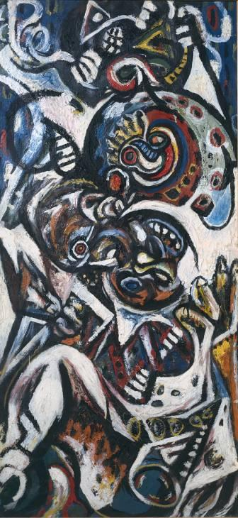 Birth - Jackson Pollock