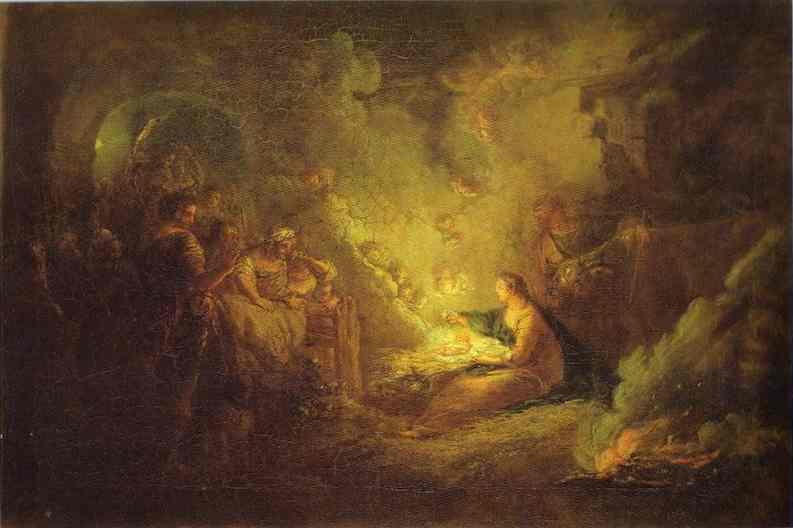 Birth of Christ - Antoine Pesne