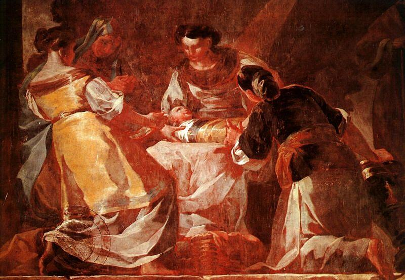 Birth of the Virgin - Francisco Goya