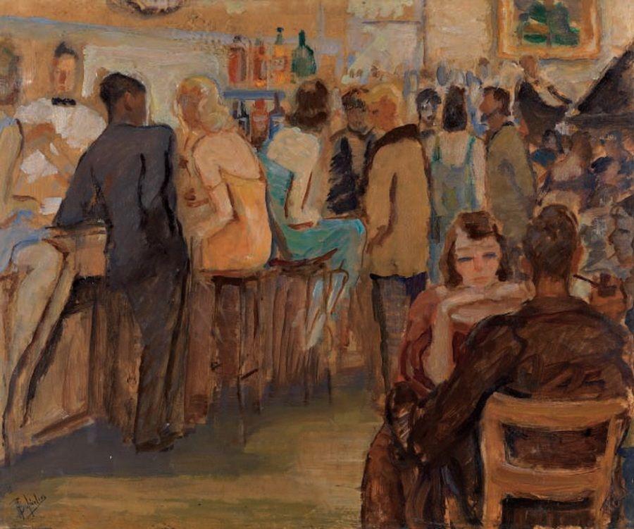 Bistro - Edward Hopper