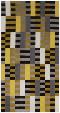 Black-White-Yellow - Anni Albers