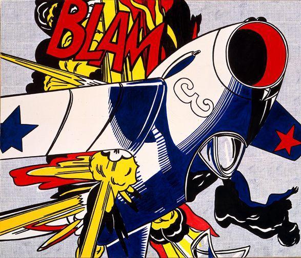 Blam - Roy Lichtenstein