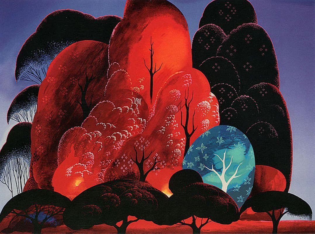Blazing Glory - Eyvind Earle