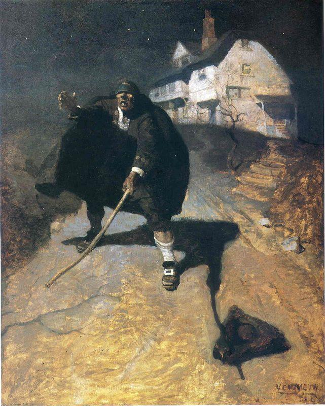 Blind Pew - N.C. Wyeth