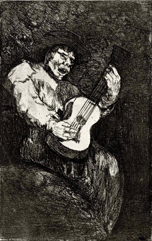 Blind singer - Francisco Goya