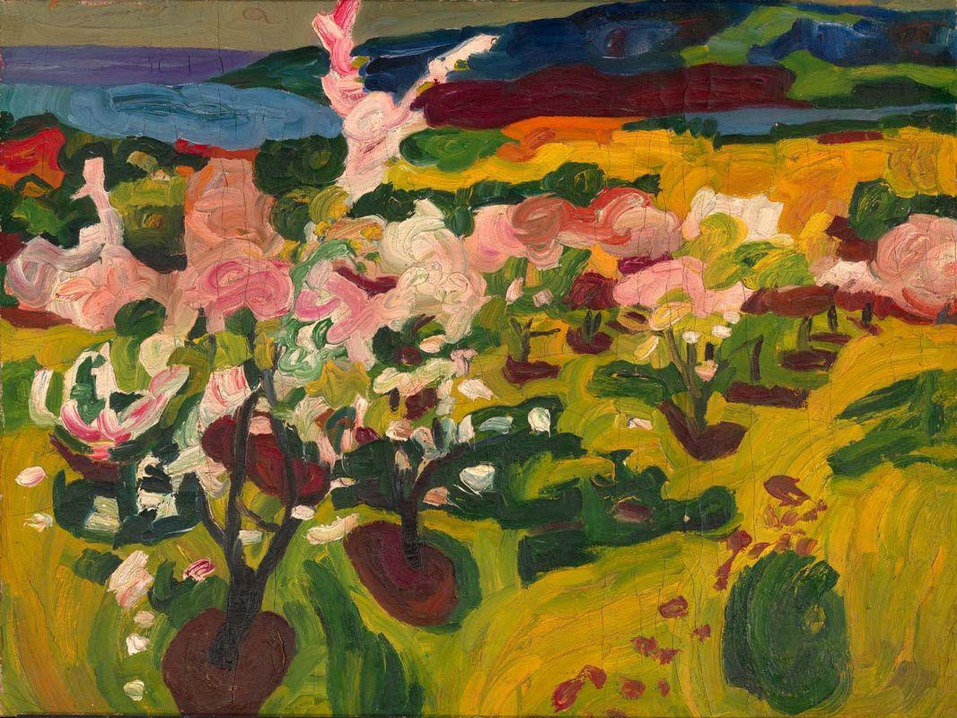 Blossoming Trees - William H. Johnson