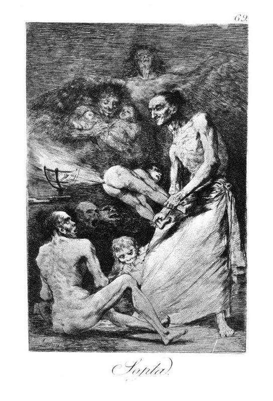 Blow - Francisco Goya