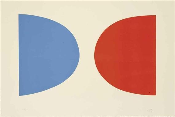 Blue and Orange - Ellsworth Kelly
