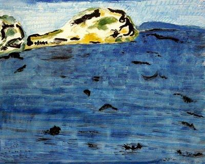 Blue Bay and Dunes - Milton Avery