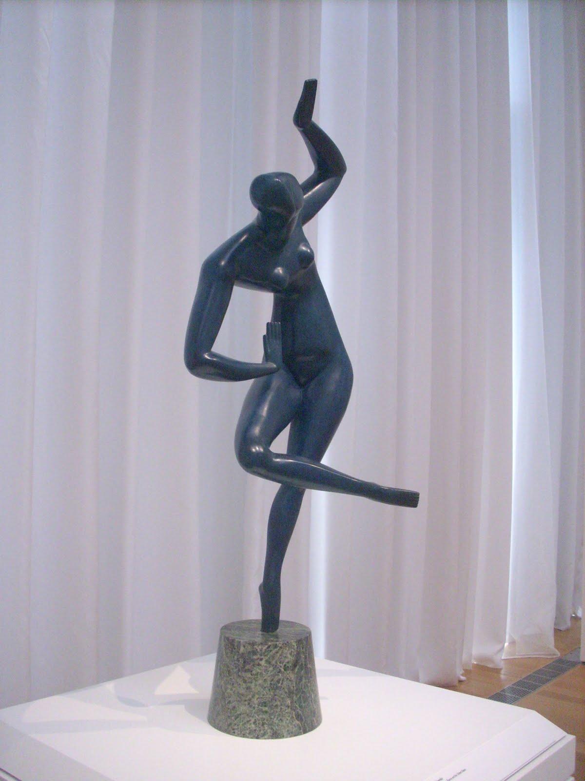 Blue Dancer  - Olexandr Archipenko