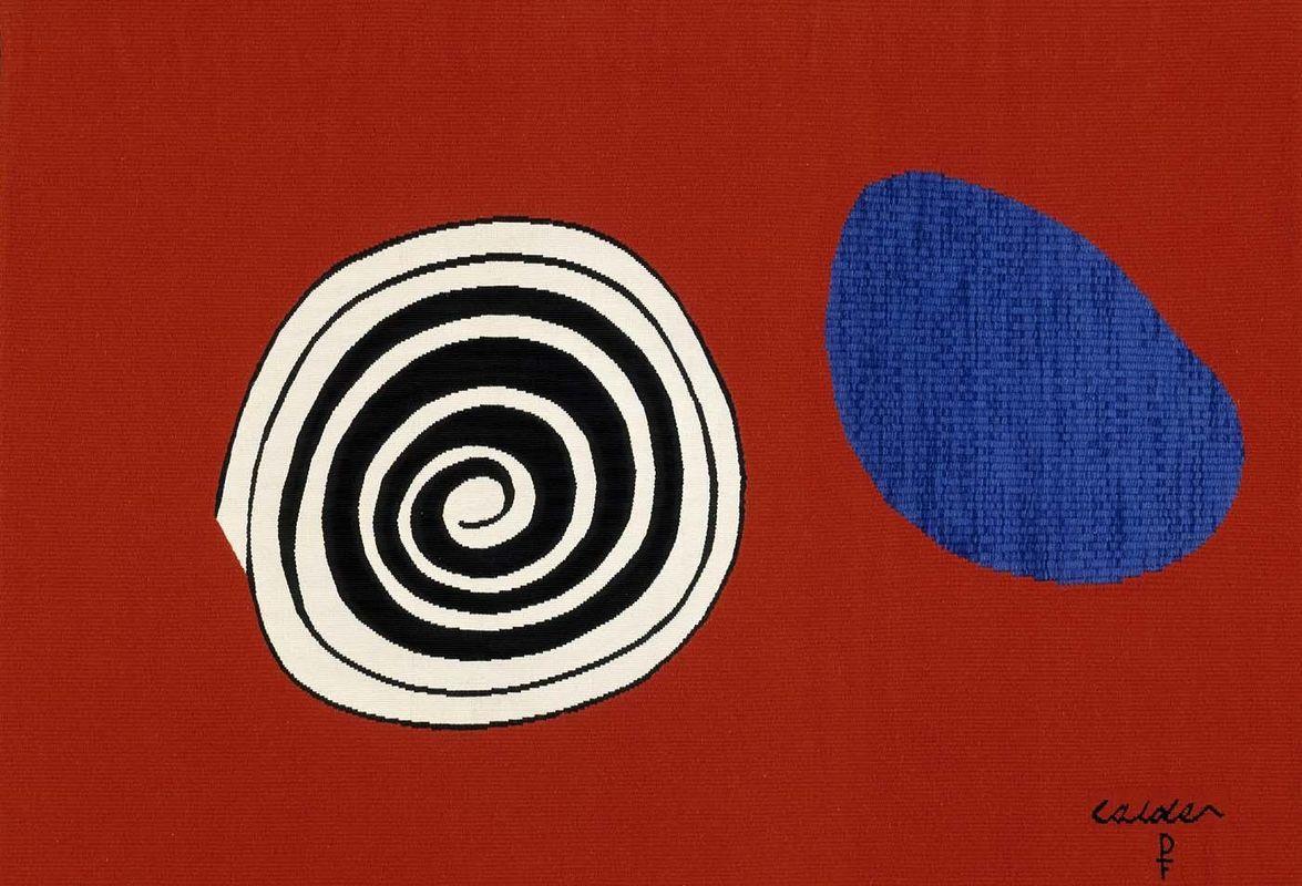Blue Drop - Alexander Calder