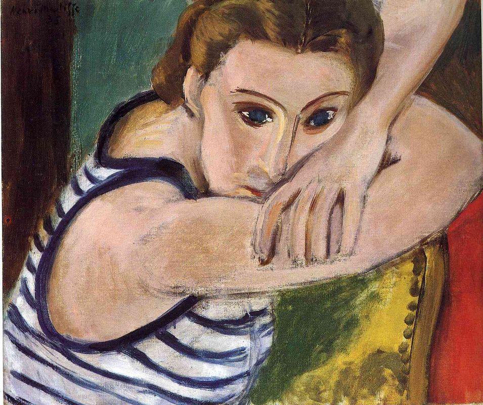 Blue Eyes - Henri Matisse