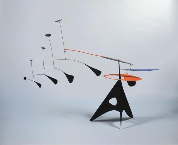 Blue Feather - Alexander Calder