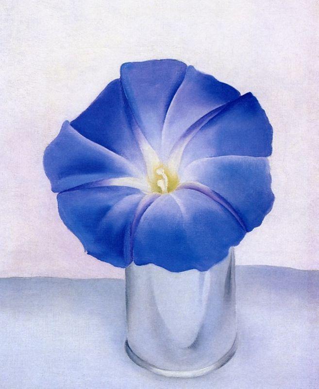 Blue Morning Glory - Georgia O'Keeffe