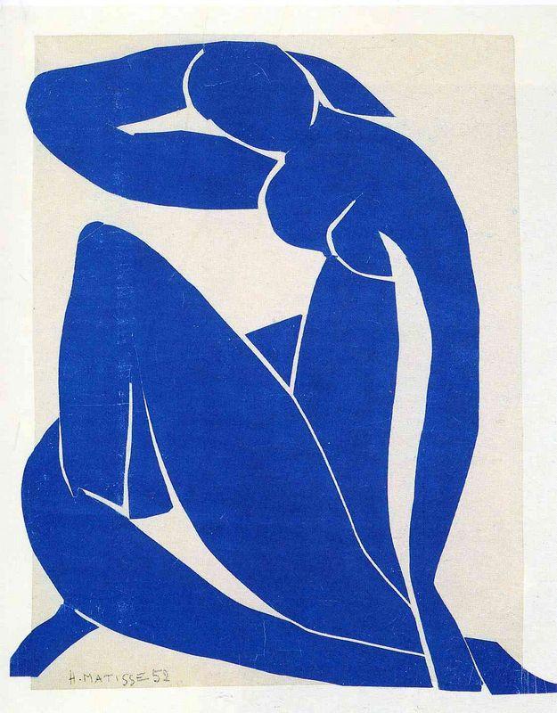 Blue Nude II - Henri Matisse