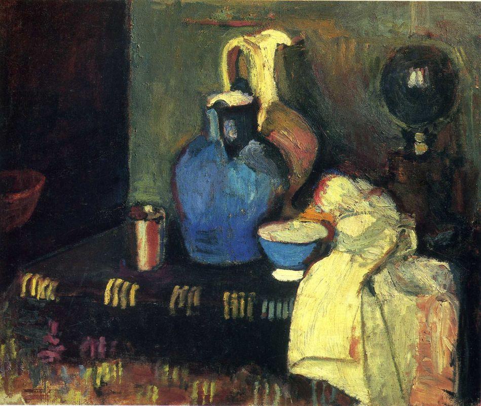 Blue Pitcher - Henri Matisse