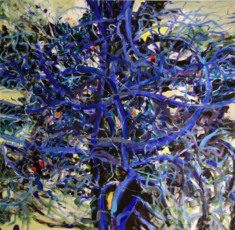 Blue Tree III - Romul Nutiu