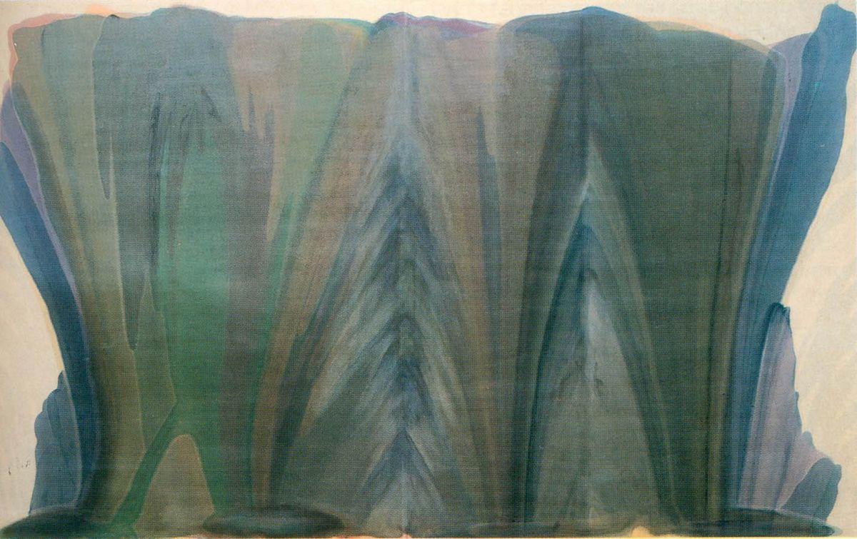 Blue Veil - Morris Louis