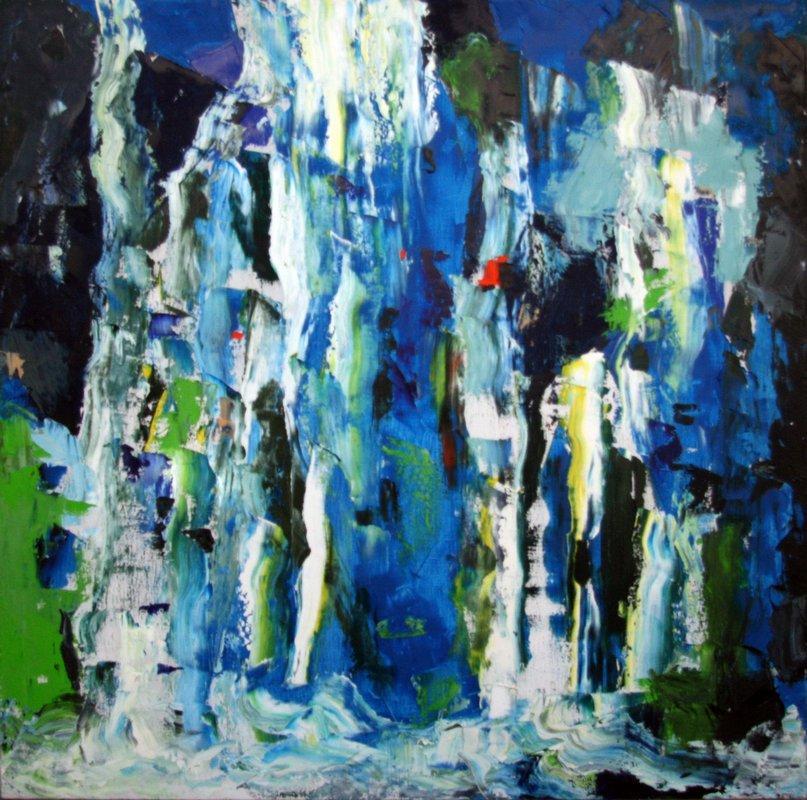 Blue Waterfall - Romul Nutiu
