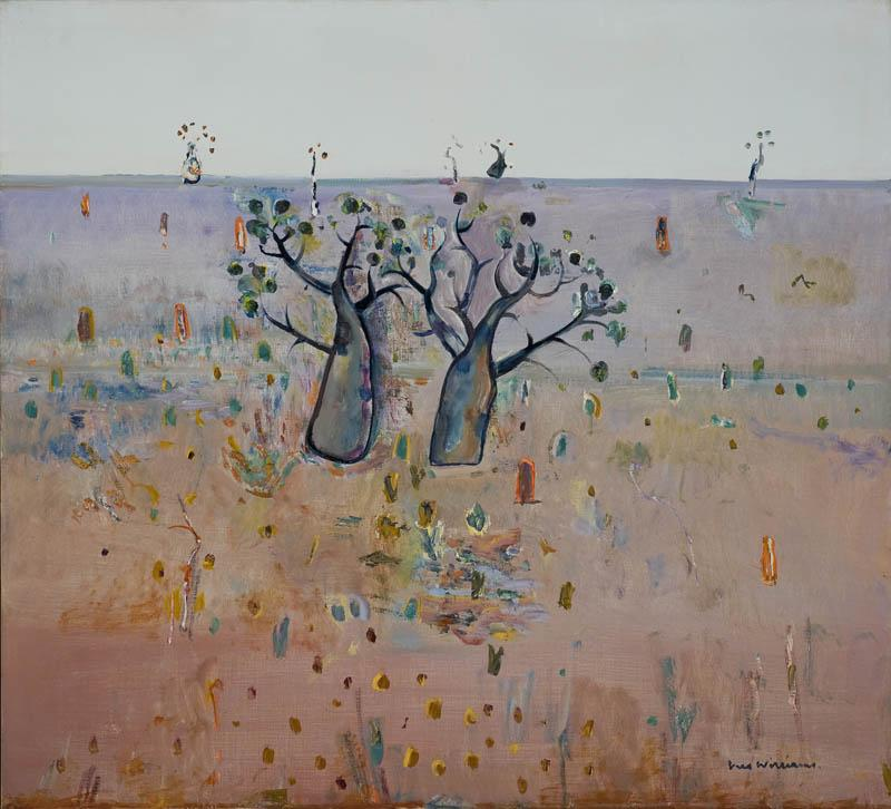 Boab trees, Kimberley's - Fred Williams