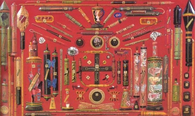 Board of Demented Associations (Fireworks) - Salvador Dali