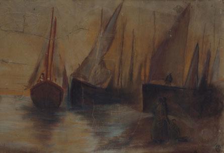 Boats in susnet - Yiannis Tsaroychis
