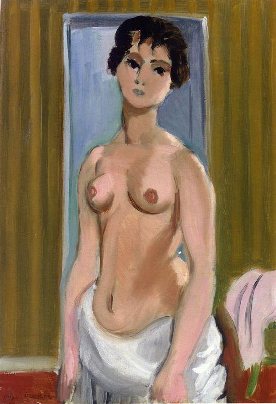 Body of a Girl - Henri Matisse