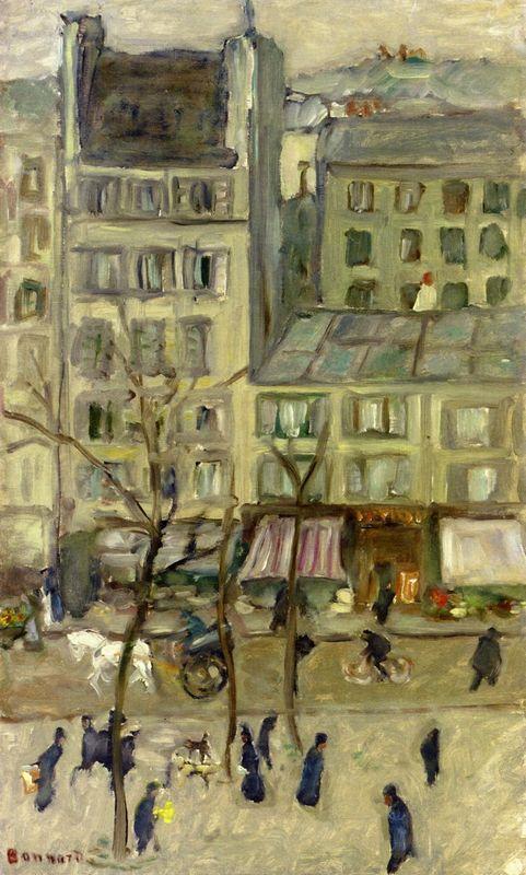 Boulevard des Batignolles - Camille Pissarro