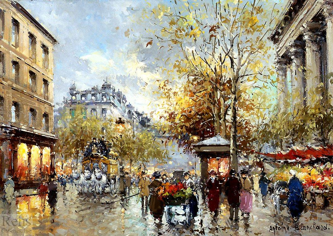 Boulevard des Capucines et Madeleine - Antoine Blanchard
